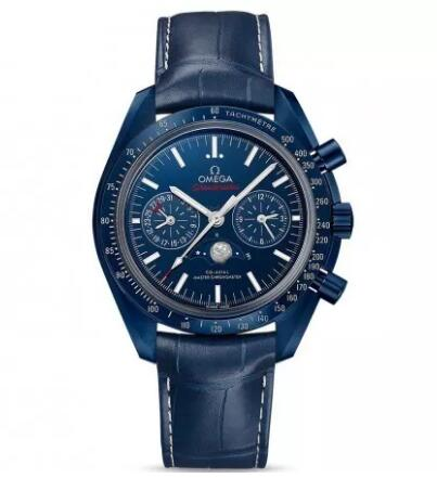 The blue color-matching of the whole watch sports a distinctive look of gentle and sporty style.