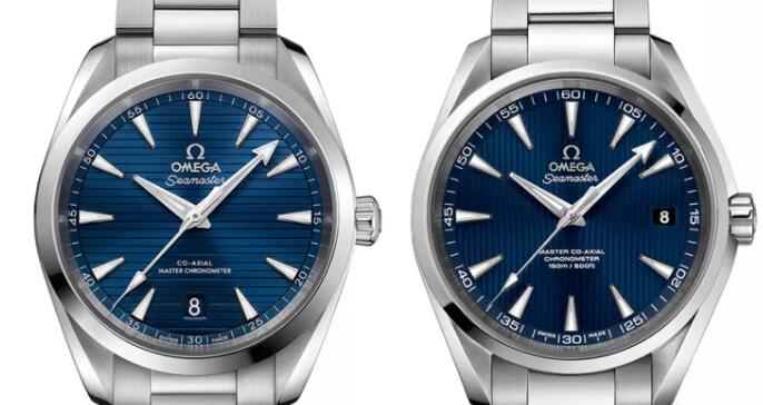 The new Aqua Terra has been designed with fully symmetry while the old version is not.