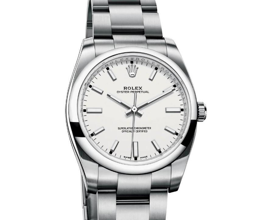 Oyster Perpetual is the most classic and representative collection of the famous Rolex.