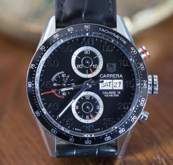This timepiece is the one and only modern TAG Heuer of the wristwatches Andretti collected.