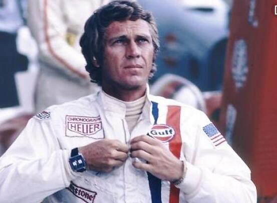 It is just Steve McQueen that makes the square case Heuer popular around the world.