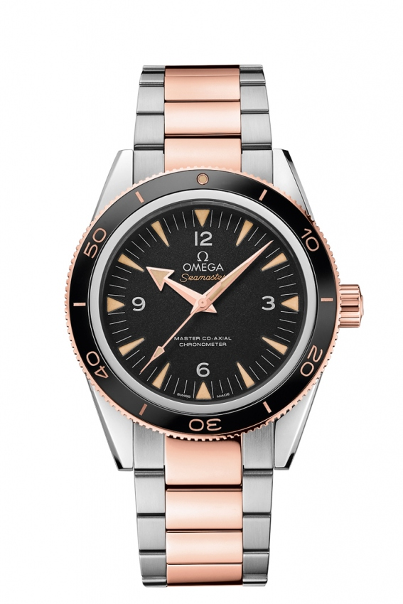 The Omega Seamaster 300 is suitable for men who favor the models with retro style.