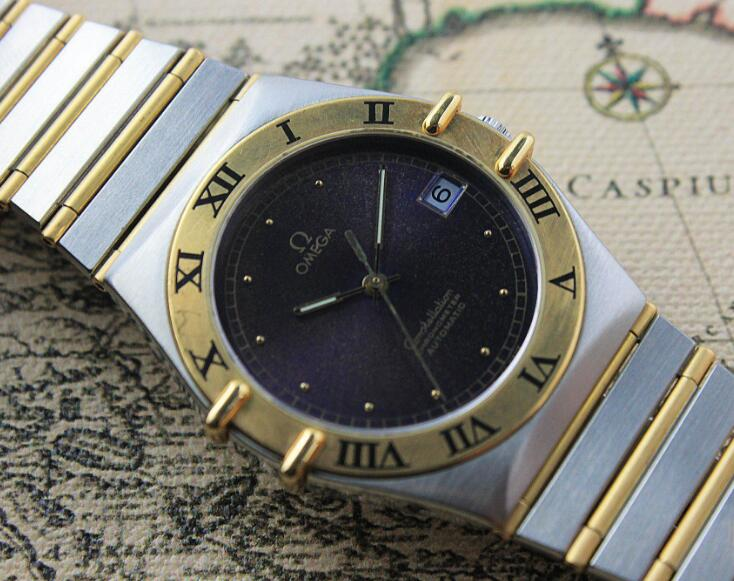 3cc8816ca8d9 The gold and steel bracelet has perfectly enhanced the charm of the  Constellation. Gold And Steel Bracelet Fake Omega Constellation
