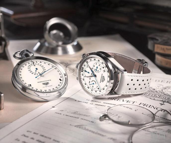 It could not only be worn as the wristwatch, but also mounted on the base on the table.
