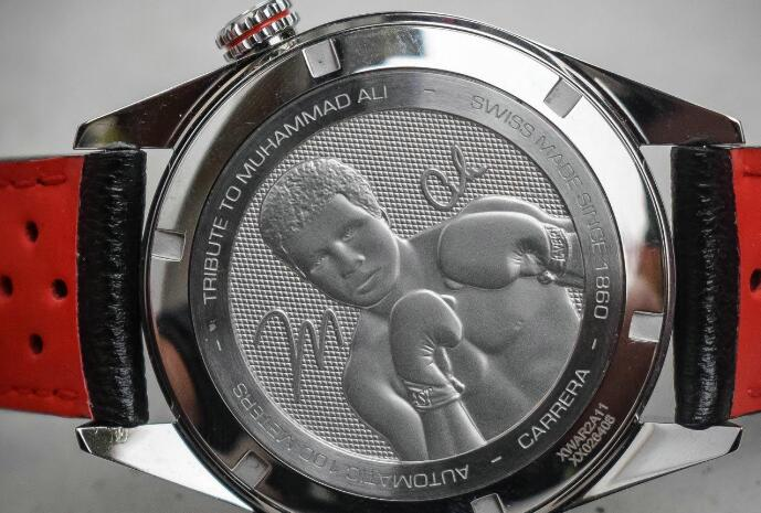 The sculpture on the caseback will commemorate to Muhammad.