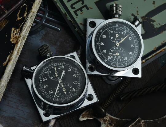 The timepiece will remind you of the original Autavia in old days.