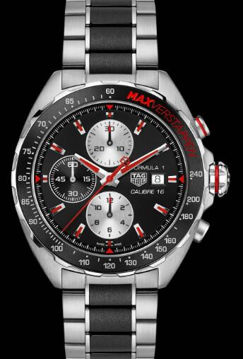 The TAG Heuer Formula 1 watches are with dynamic appearance and high performance.
